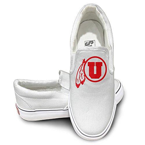 TAYC University Of UTAH Fashion Shoe White
