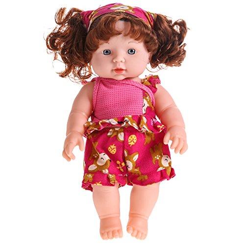 ZythoTM Reborn Baby Doll Soft Vinyl Silicone Lifelike Newborn Baby Speaking Toy