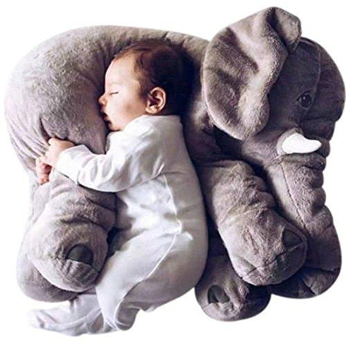 Bedtime Originals Plush ToyLong Nose Elephant Doll Pillow Soft Plush Stuff Toys Lumbar Pillow For Baby Kids