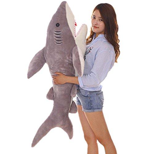 YIWULA Cute Sharks Doll Plush Toys Pillow Stuffed