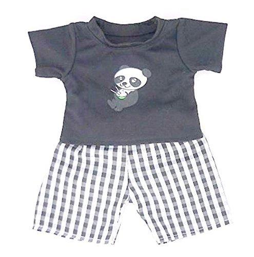 Blue Dog PJs Pyjamas Slippers Teddy Bear Clothes fit Build a Bear factory Teddies