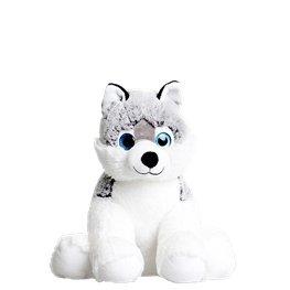 The Build a Bear Factory 15 Satin Husky Dog Stuffed Doll