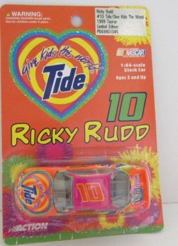 Ricky Rudd 10 Tide Give Kids the World 1999 Taurus 164 Scale Car