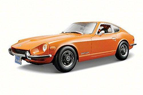 Maisto 1971 Datsun 240Z Orange 31170 - 118 Scale Diecast Model Toy Car