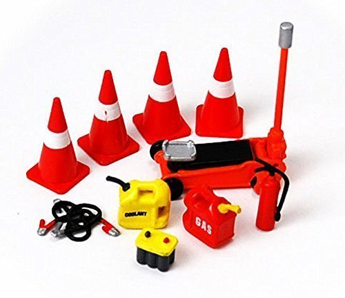 Roadside Assistance Set - Phoenix 16052 - 124 Scale Diecast Car Accessory by Phoenix