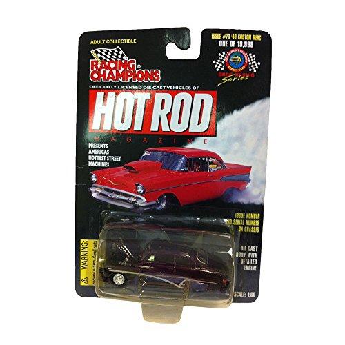 Racing Champions Hot Rod Magazine 1949 Custom Merc Issue 73 Diecast 160 Scale