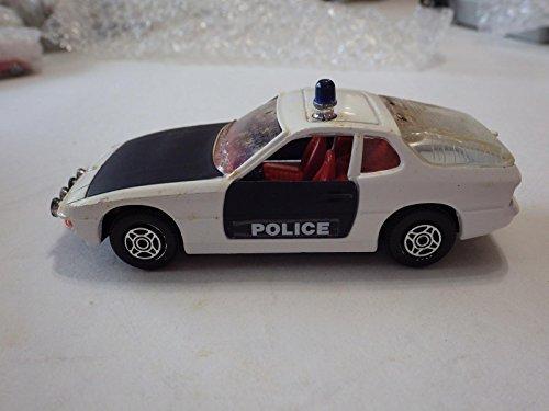 Corgi Great Britain WhiteBlack Porsche 924 Police Diecast 140
