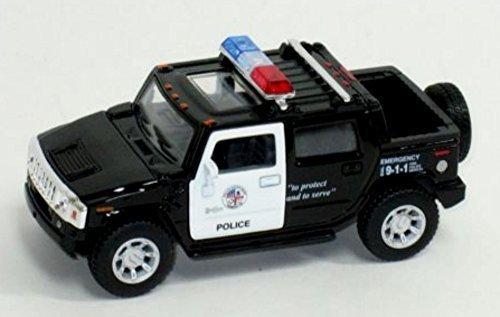 Kinsmart Police Diecast 2005 Hummer by kinsmart