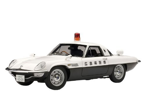 Mazda Cosmo Sport Japanese Police Diecast Model Car by AUTOart