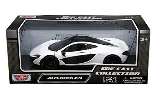 Motormax Collection Mclaren P1 124 Diecast Model Car White