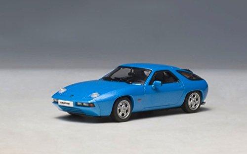 Porsche 928 Blue 143 Autoart Diecast Car Model