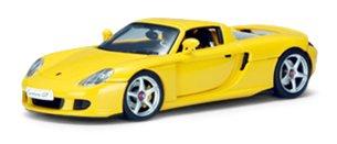 Porsche Carrera GT Black 143 Autoart Diecast Car Model