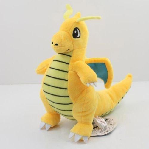 Pokemon Mega Dragonite 9 Inch Toddler Stuffed Plush Kids Toys