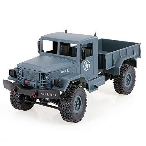 Goolsky WPL B-1 116 24G 4WD Off-Road RC Military Truck Rock Crawler Army Car