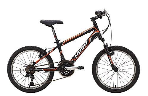 HASA Kids Mountain Bike Shimano 18 speed 20 Orange