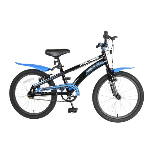 Polaris Edge LX200 Kids Bike 20 inch Wheels 12 inch Frame Boys Bike BlackBlue