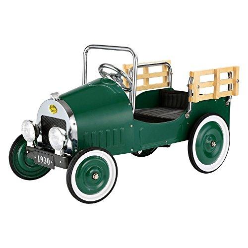Dexton Kids Retro Pickup Truck Pedal Riding Toy -
