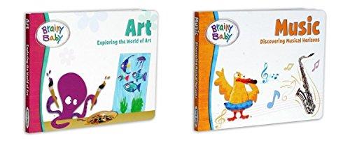 Brainy Baby Art and Music Book Set