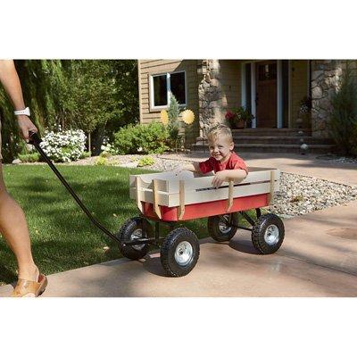 Kotulas All-Terrain Red Wagon 220-Lb Capacity