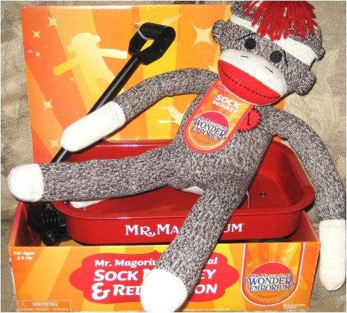 Mr Magoriums Wonder Emporium Sock Monkey Red Wagon