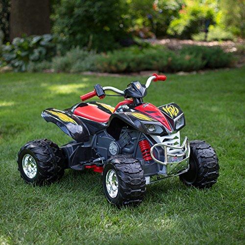 Reverse Gear Power Wheels Hot Wheels KFX ATV Battery Powered Riding ToyFisher-Price
