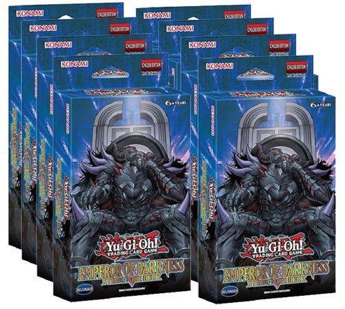 Yugioh Emperor Of Darkness EOD English Structure Decks Box - 8 decks  42 cards each