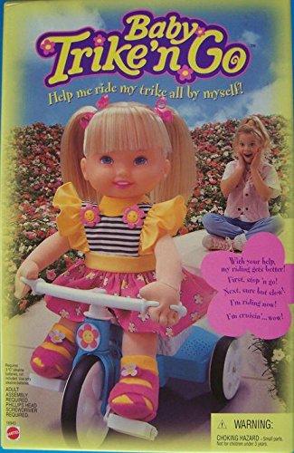 Baby Trike N Go Doll Help Me Ride My Trike All By Myself