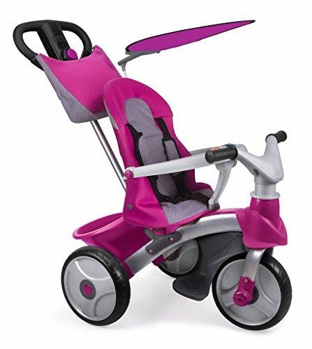 Feber 800009561 - Baby Trike Easy Evolution Girl Bobbycar by Feber