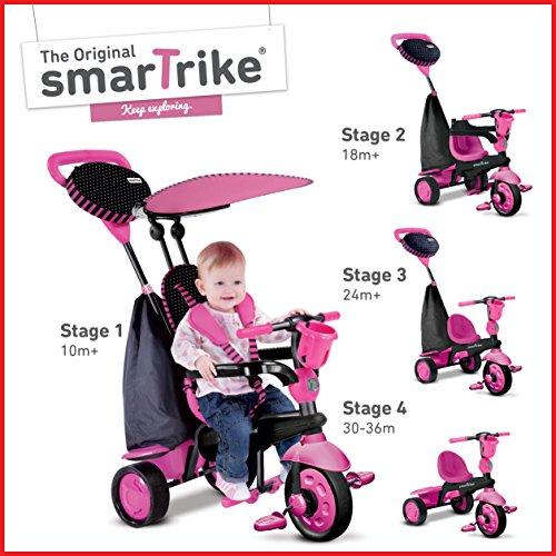 SmarTrike Spark 4-in-1 Baby Trike - Pink