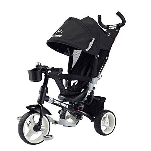 Samchulli SAMTRIKE 700 BICYCLE Kids Tridke Tricycle Child Baby Toy Bike Black
