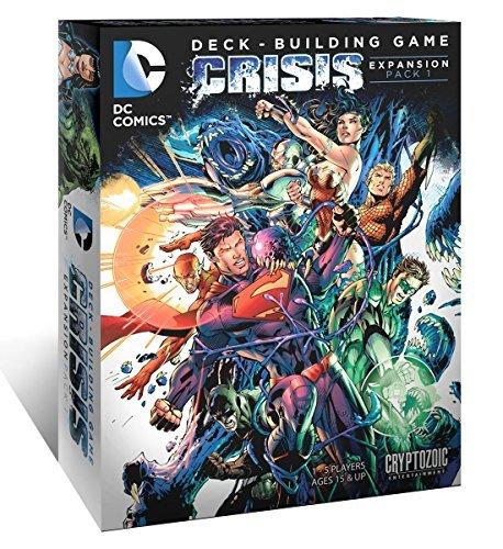 DC Comics Deck Building Game Crisis Expansion Pack 1 by Cryptozoic Entertainment
