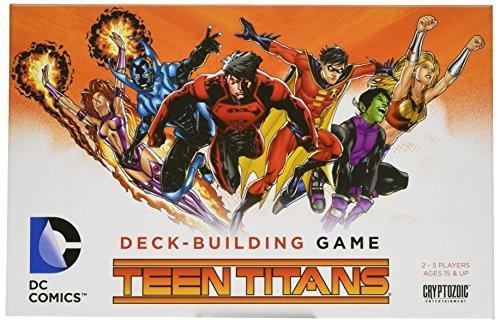 DC Comics Deck-Building Game Teen Titans by Cyrptozoic Entertainment