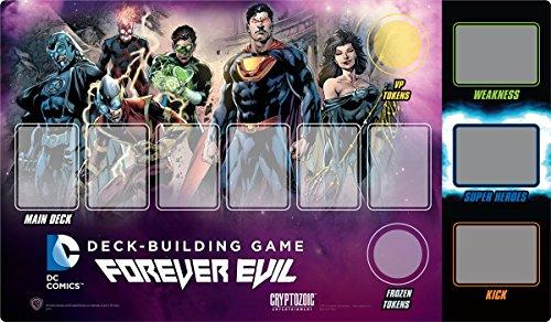 DC Comics Deck-building Game Playmat  Forever Evil