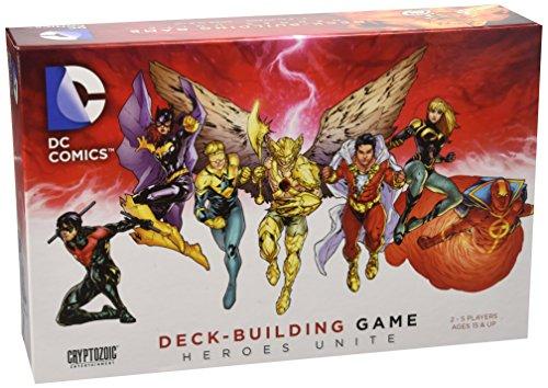 Dc Comics Deck-building Game Heroes Unite