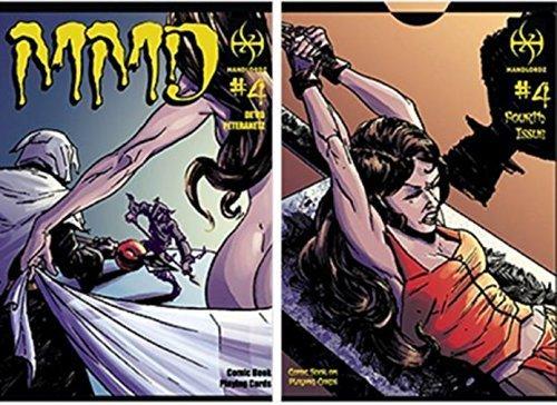 MMD4 - Magicians Must Die Comic Deck by Handlordz Jay Peteranetz by Handlordz LLC