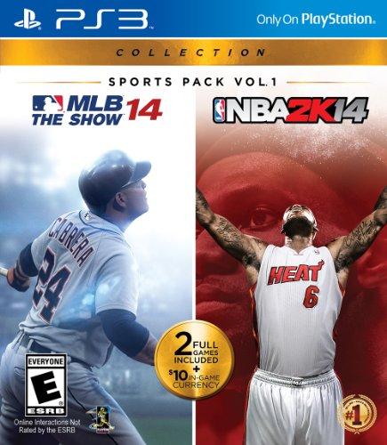 PlayStation Sports Pack Vol 1 - MLB 14 The Show  NBA2K14 - PlayStation 3
