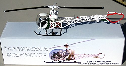 First Response  Corgi 143 PSP Pennsylvania State Police Bell 47 Helicopter