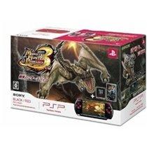 Monster Hunter Portable 3rd PSP Special Console - BlackRed PSP-3000 Bundle