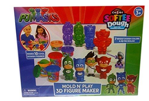 PJ Masks - Mold N Play 3D Figure Maker