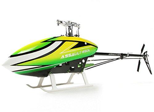 HobbyKing Assault 450L Flybarless 3D Helicopter Kit  Type Collective pitch flybarless 3D helicopter