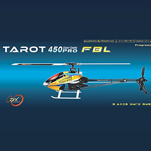 Pink Lizard Tarot 450 PRO V2 FBL Flybarless RC Helicopter KIT