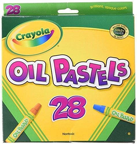 Crayola Oil Pastels-28Pkg