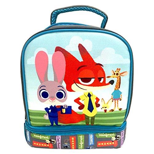 Zootopia Kids Lunch Box Disney Movie Nick Wilde Judy Hoops
