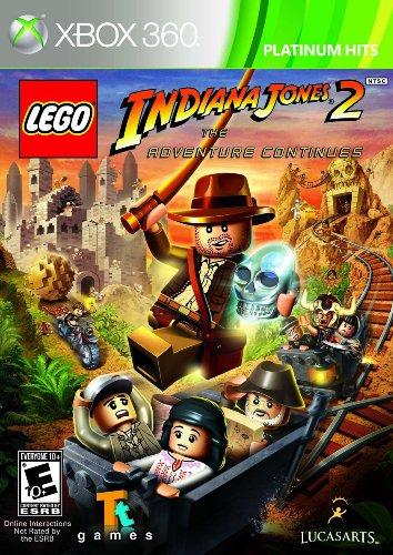 Lego Indiana Jones 2 The Adventure Continues - Xbox 360