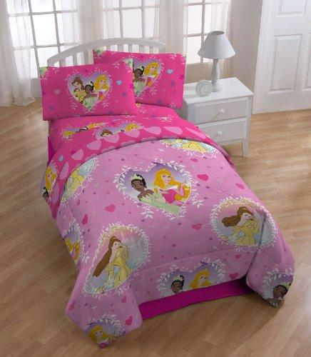 Disney Princess Rotary Reversible Comforter Set Twin