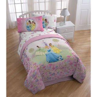 Disney Princess Royal 5-piece Comforter and sheets Set bed in a bag