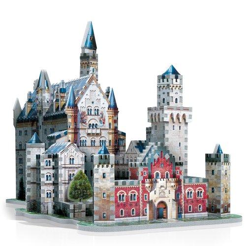 Neuschwanstein Castle 3D Jigsaw Puzzle 890-Piece