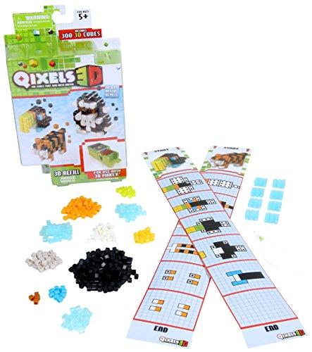Qixels 3D Refill - Jungle World