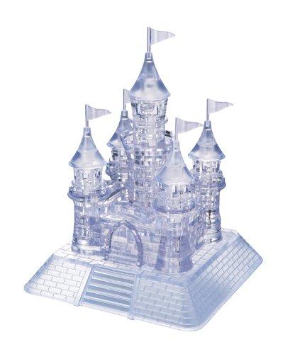 Original 3D Crystal Puzzle - Deluxe Castle Clear