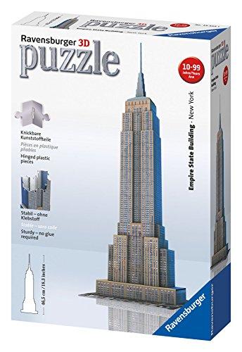 Ravensburger Empire State Building 216 Piece 3D Building Set